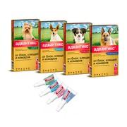 Bayer Advantix Адвантикс капли для собак для борьбы с блохами, клещами, комарами