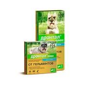 BAYER Drontal Дронтал Плюс антигельминтное средство для собак со вкусом мяса