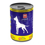 VitAnimals консервы для собак говядина