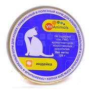 VitAnimals консервы для кошек индейка