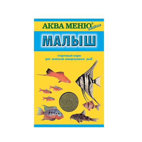 Аква Меню Малыш корм для рыб