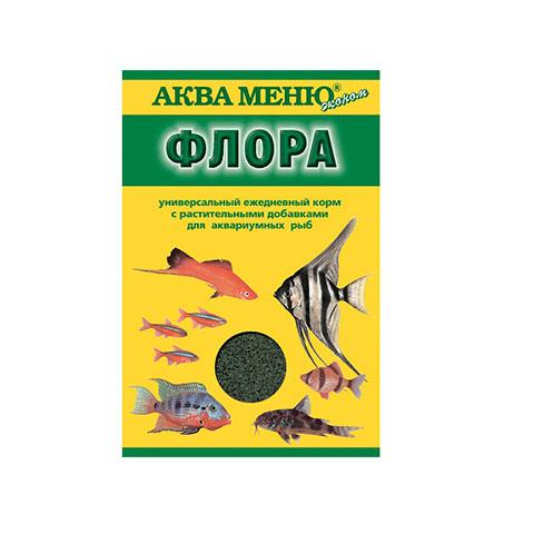 Аква Меню Флора корм для рыб хлопья