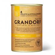 Grandorf Duck & Turkey Adult All Breeds утка и индейка для взрослых собак всех пород