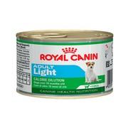 Royal Canin Adult Light Эдалт Лайт консервы для собак предрасположенных к полноте, мусс