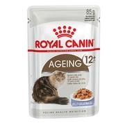 Royal Canin Ageing 12+ влажный корм для кошек, пауч (кусочки в желе)