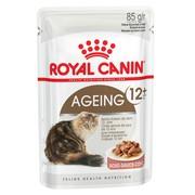 Royal Canin Ageing 12+ влажный корм для кошек, пауч (кусочки в соусе)