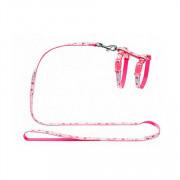Nobby шлейка для кошек Китти розовая