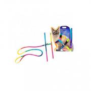 Nobby шлейка для кошек Радуга