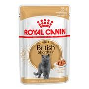 Royal Canin British Shorthair Adult влажный корм для кошек Британская короткошерстная, пауч