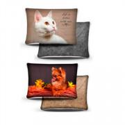 PERSEILINE подушка дизайн 3D фотопечать с кошкой, собакой