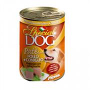 Special Dog консервы для собак паштет курица с кроликом