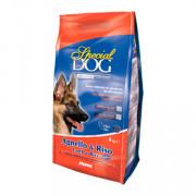 Special Dog корм для собак с особыми потребностями с чувствительной кожей и пищеварением ягненок, рис