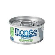 Monge Cat Monoprotein хлопья для кошек из кролика