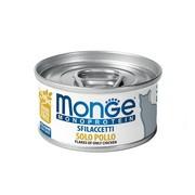 Monge Cat Monoprotein хлопья для кошек из курицы