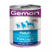 Gemon Dog Light консервы для собак облегченный паштет тунец