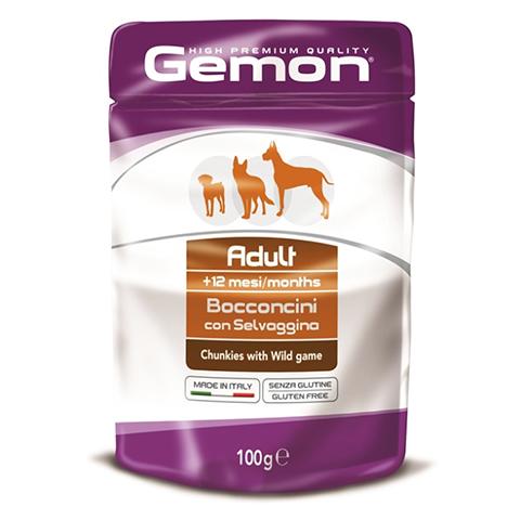 Gemon Dog Pouch паучи для собак кусочки дичи