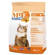 Корм сухой Forza10 Fruit для взрослых домашних кошек из курицы и рыбы - 0,4 кг