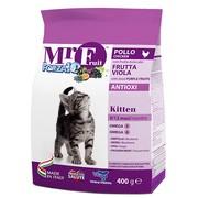 Корм сухой Forza10 Fruit для котят до 12 мес на основе курицы и рыбы - 0,4 кг