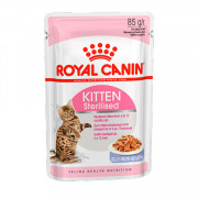 Royal Canin Kitten Sterilised кусочки в желе