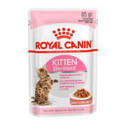 Royal Canin Kitten Sterilised кусочки в соусе