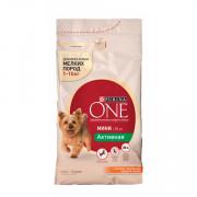 Purina One Мини Активная корм сухой для собак мелких пород курица рис
