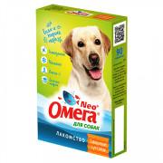 ОМЕГА NEO+ лакомство для собак с глюкозамином и коллагеном 90 таб.