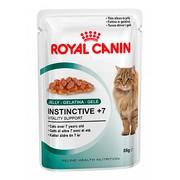 Royal Canin Instinctive 7+ консервы для кошек, пауч (кусочки в желе)