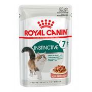 Royal Canin Instinctive 7+ консервы для кошек, пауч (кусочки в соусе)