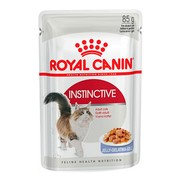 Royal Canin Instinctive консервы для кошек, пауч (кусочки в желе)