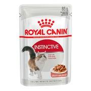 Royal Canin Instinctive консервы для кошек, пауч (кусочки в соусе)