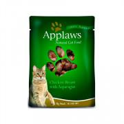 APPLAWS Cat Chicken and Asparagus pouch консервы для кошек с курицей и спаржей