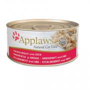 APPLAWS Cat Chicken and Duck консервы для кошек курицей и уткой
