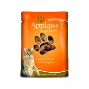 APPLAWS Cat Chicken and Pumpkin pouch консервы для кошек с курицей и тыквой