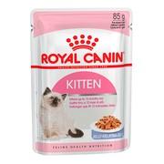Royal Canin Kitten Instinctive консервы для котят, пауч (кусочки в желе)
