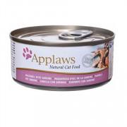APPLAWS Cat Mackerel and Sardine консервы для кошек со скумбрией и сардинками