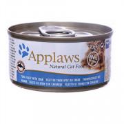 APPLAWS Cat Tuna and Crab консервы для кошек с тунцом и крабовым мясом
