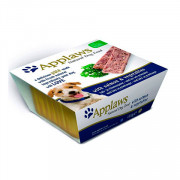 APPLAWS Dog Pate with Salmon and vegetables консервы для собак паштет с лососем и овощами