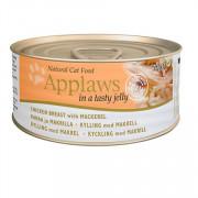 APPLAWS Jelly Chicken and Mackerel консервы для кошек с курицей и скумбрией в желе