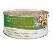 APPLAWS Jelly Tuna and Seaweed консервы для кошек с тунцом иморской капустой