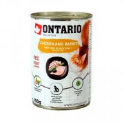 ONTARIO консервы для кошек курица и кролик