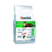 ONTARIO корм сухой для кастрированных котов и стерилизованных кошек