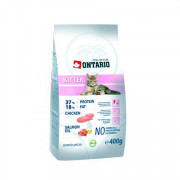 ONTARIO корм сухой для котят с курицей