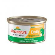 ALMO NATURE DAILYMENU консервы для кошек нежный мусс меню с индейкой