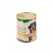 ORGANIX консервы для собак говядина с бараниной