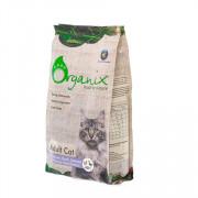 ORGANIX корм сухой для кошек курица, утка, лосось