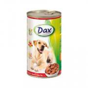 Dax Dog корм консервированный для взрослых собак с говядиной в соусе