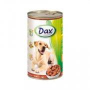 Dax Dog корм консервированный для взрослых собак с печенью в соусе