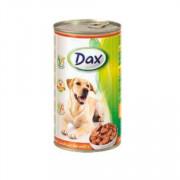Dax Dog корм консервированный для взрослых собак с птицей в соусе