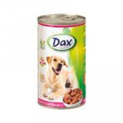 Dax Dog корм консервированный для взрослых собак с телятиной в соусе