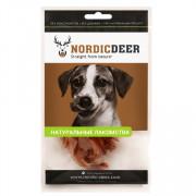Nordic Deer лакомство для собак трахея говяжья кольца